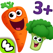 FUNNY FOOD 2! Kindergarten Learning Games for Kids